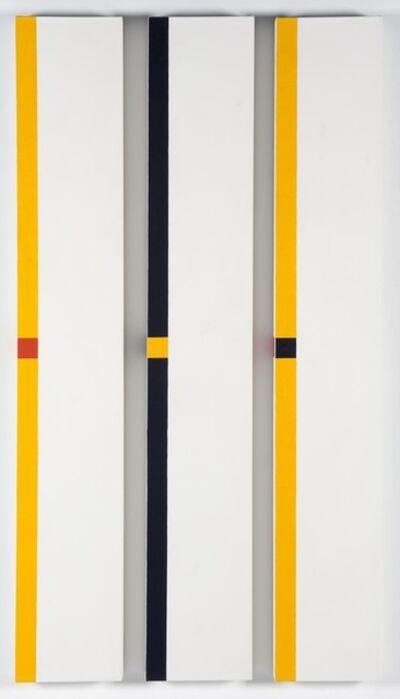 César Paternosto, 'Trio Tema marginal 2', 2011