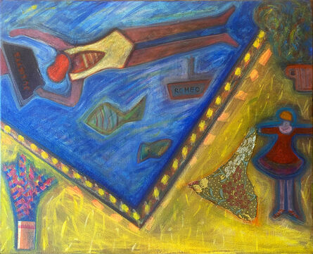 Josette Simon-Gestin, 'romeo 2', 2005