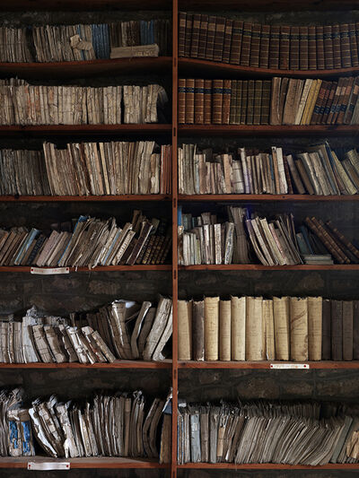 Simon Brown, 'Books Saved From Fire, France', 2012