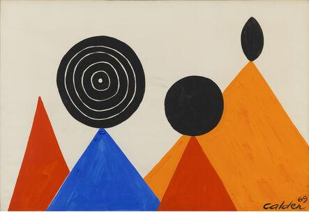 Alexander Calder, 'Sur Les Pointes', 1969