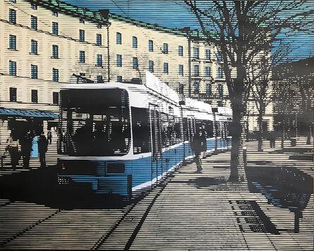 Ryan LU, '城市一角 Urban corner', ca. 2014