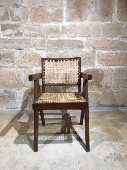 Pierre Jeanneret, 'PIERRE JEANNERET — Chaise dite «Office chair»', ca. 1953-54