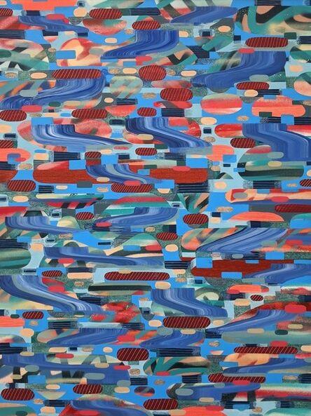 Luke Ramsey, 'Blue Aggregates', 2020