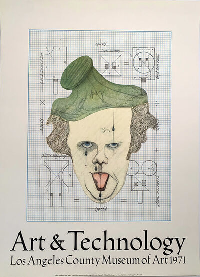 Claes Oldenburg, 'Art & Technology, Los Angeles County Museum of Art Poster, Gallery Poster ', 1971