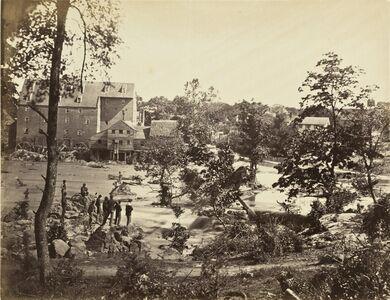 Timothy H. O'Sullivan, 'Johnson's Mill, Petersburg, VA', 1865