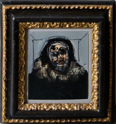 Antonio Saura, 'Portrait in camera (série La Quinta del Sordo / La Maison du sourd)', 1974