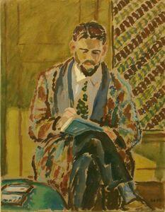 Harold Weston, 'Man Sketching', 1928