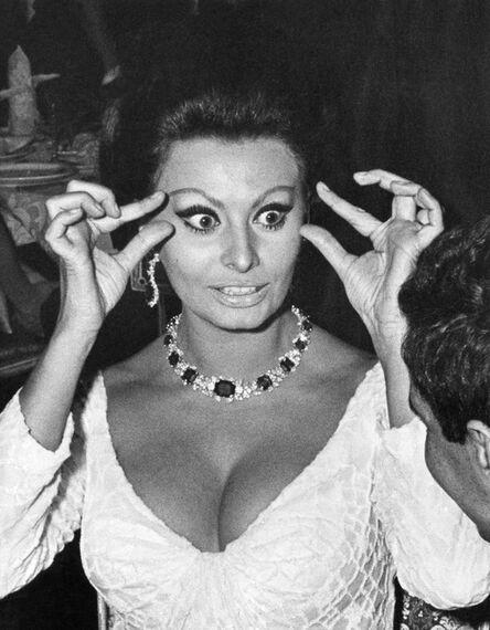 Ron Galella, 'Sophia Loren, New York', 1965