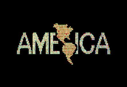 Alfredo Jaar, 'A Logo for America', 1987