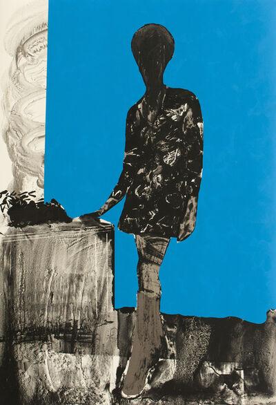 Hurvin Anderson, 'Mrs. S. Keita - Blue', 2010