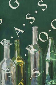 Alan Michael, 'Untitled (Bottles/Grassroots)', 2007