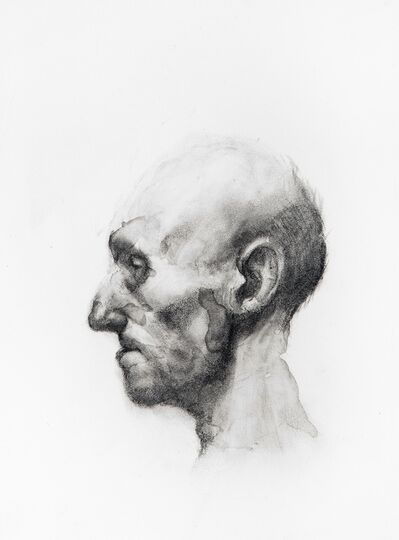 Ken Currie, 'After the death mask of Antonio Canova', 2012