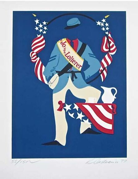 Robert Indiana, 'Jo the Loiterer (Virgil Thomson, Mother of Us All Suite)', 1977