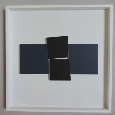 John Carter, 'Identical Shapes Two Pairs Blue and Black', 2013