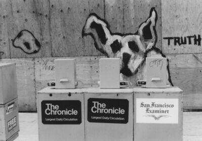Arabella Colton, 'Wall Dogs — Truth, Fillmore St., San Francisco, 1993', 1993