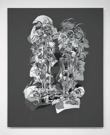 "Carol Salmanson, '""Radiations 12""', 2018"