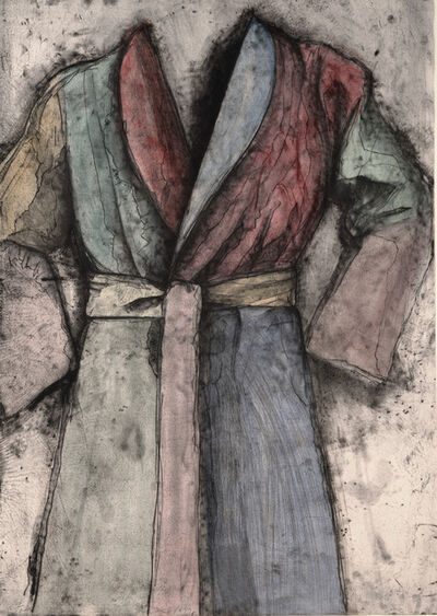 Jim Dine, 'Multicolored Robe', 1977