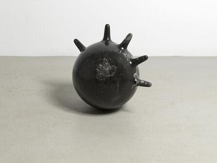 Sam Ekwurtzel, 'Black limestone glove', 2018