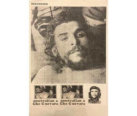 Herbert Rodríguez, 'Defunción', 1986