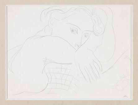 Henri Matisse, 'Femme, la tête reposée sur les avant-bras', ca. 1935