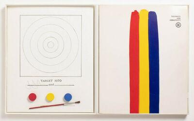 Jasper Johns, 'Jasper Johns Target (Jasper Johns Target Technics and Creativity MoMa 1971)', 1971