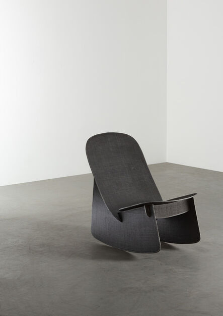 Aki and Arnaud Cooren, 'Tiss-Tiss Rocking Chair Black', 2019