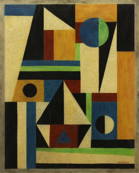 Emil Bisttram, 'Transcendental Abstraction', 1937