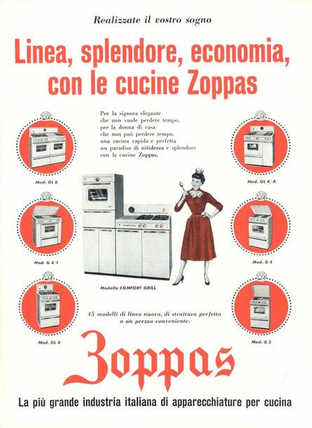 Zoppas, 'Pubblicità Zoppas', 1959