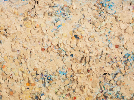 Howardena Pindell, 'Untitled #20 (Dutch Wives Circled and Squared) (detail)', 1978
