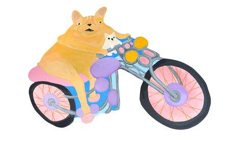 Katie Kimmel, 'Motocycle Dogs', 2018