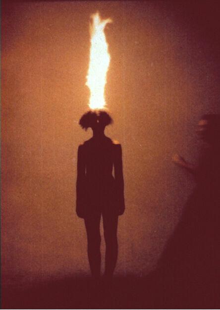 Jana Sterbak, 'Artist as combustible', 1986