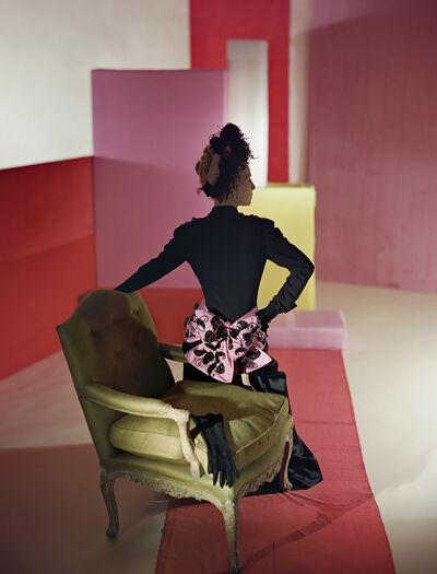 Horst P. Horst, 'Suit and Headdress by Schiaparelli', 1947