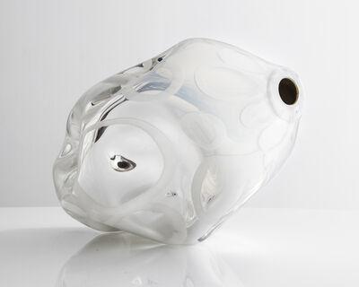Jeff Zimmerman, 'Unique Mirroring Dented Murrine vessel in hand-blown glass', 2015