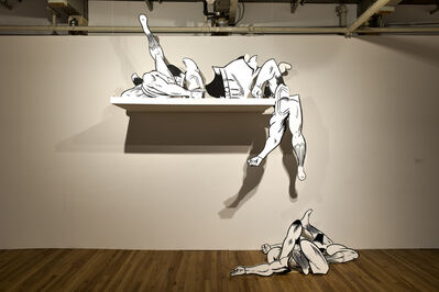 Jim Shaw, 'Superman Body Parts', 2010