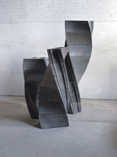 Aaron Stephan, 'Left-Twist Blocks (D. W. Arrangement)', 2017