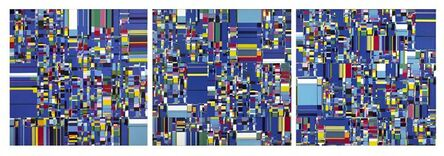 Gabriela Böer, 'Random Links sobre Azul', 2011