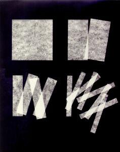 Jan Kubíček, 'die form - die aktion IV - fotogramm', 1985