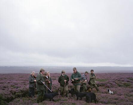 Simon Roberts, 'Grouse shoot, Hutton-le-Hole, North Yorkshire', 2008