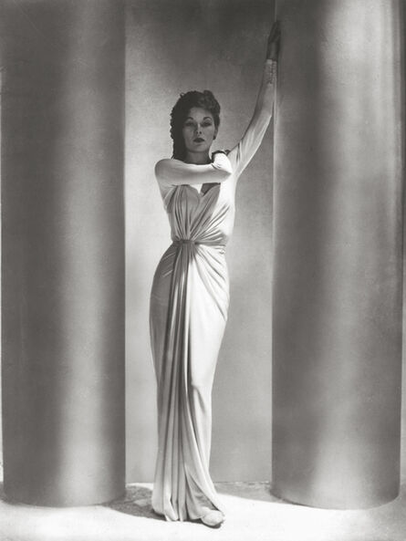 Horst P. Horst, 'Alix Dress / LUD', 1938