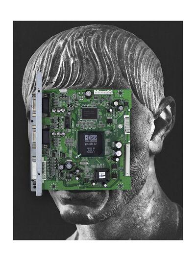 Nicolas Lamas, 'Posthuman portrait (Genesis)', 2021