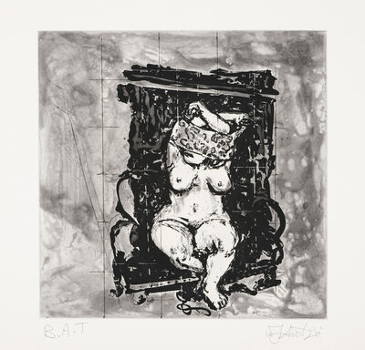 William Kentridge, 'Black Chair', 2010