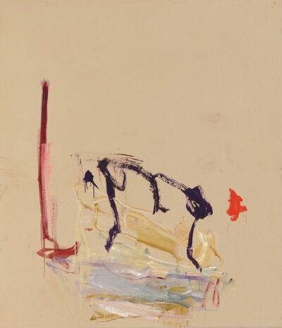 Martha Jungwirth, 'Der Affe', 2021