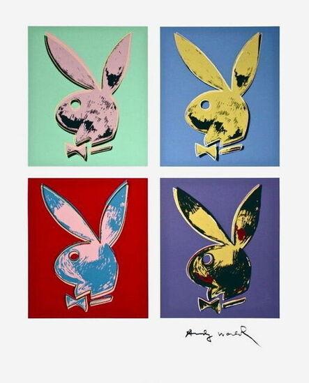 Andy Warhol, 'Playboy Bunny (Quad)', 1990
