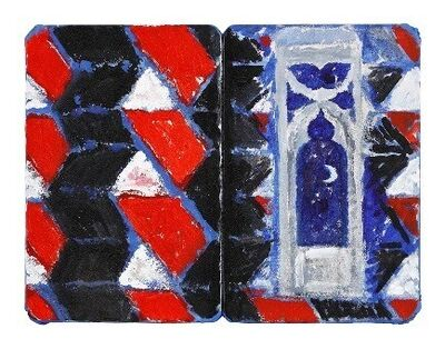 Joe Tilson RA, 'The Stones of Venice Ca'Foscari 4 diptych', 2019