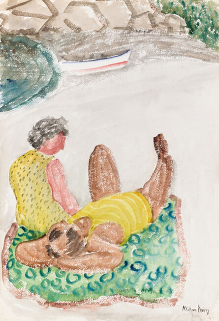 Milton Avery, 'Untitled (Afternoon Nap)', ca. 1930