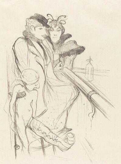 Henri de Toulouse-Lautrec, 'Wounded Eros (Eros vanné)', 1894