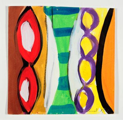 Kim MacConnel, 'Woman with Mirror. (Canvas #14)', 2007