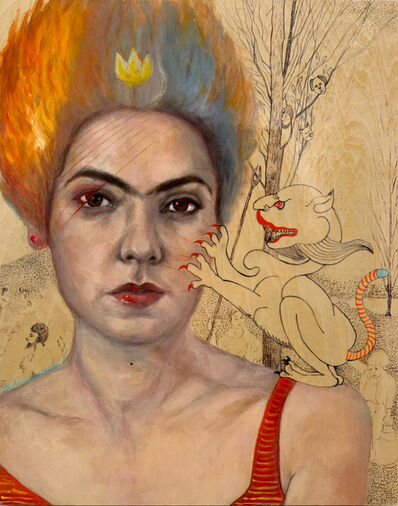 Bahar Sabzevari, 'Untitled (Crown Series)', 2019