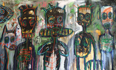 Aboudia, 'Untitled ', 2015