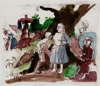 Paula Rego, 'Study for Caritas', 1993